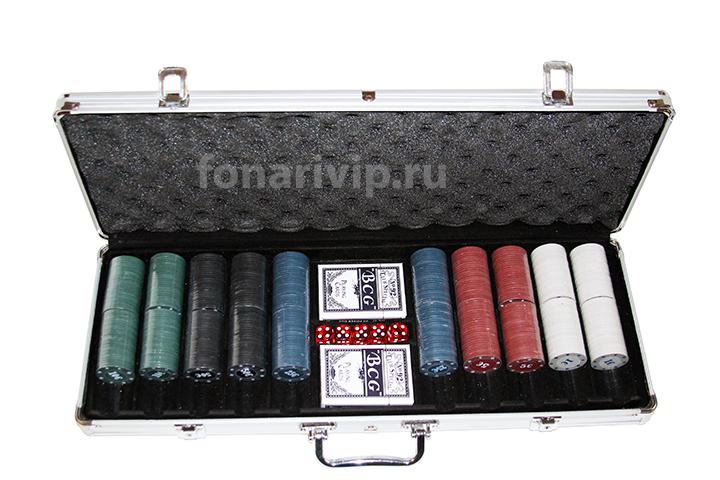 Настольная игра Покер Poker Game Set 500Pc