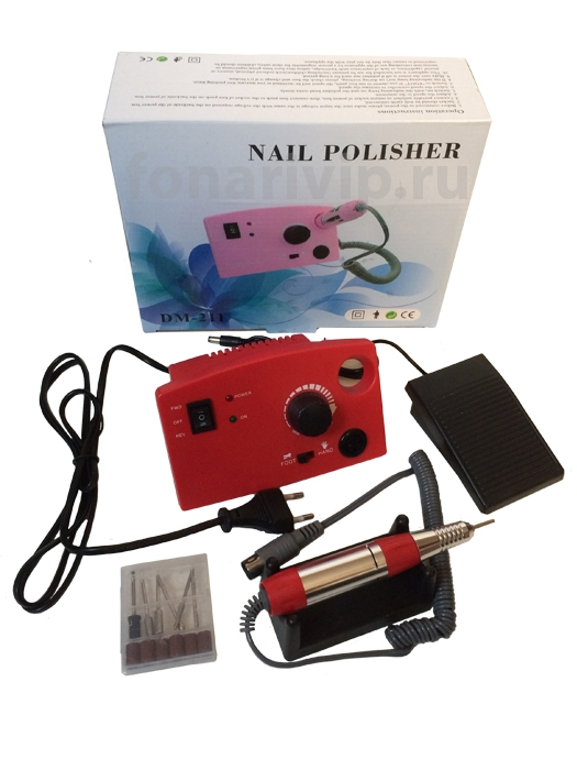 Аппарат для маникюра и педикюра Nail Polisher DM-211