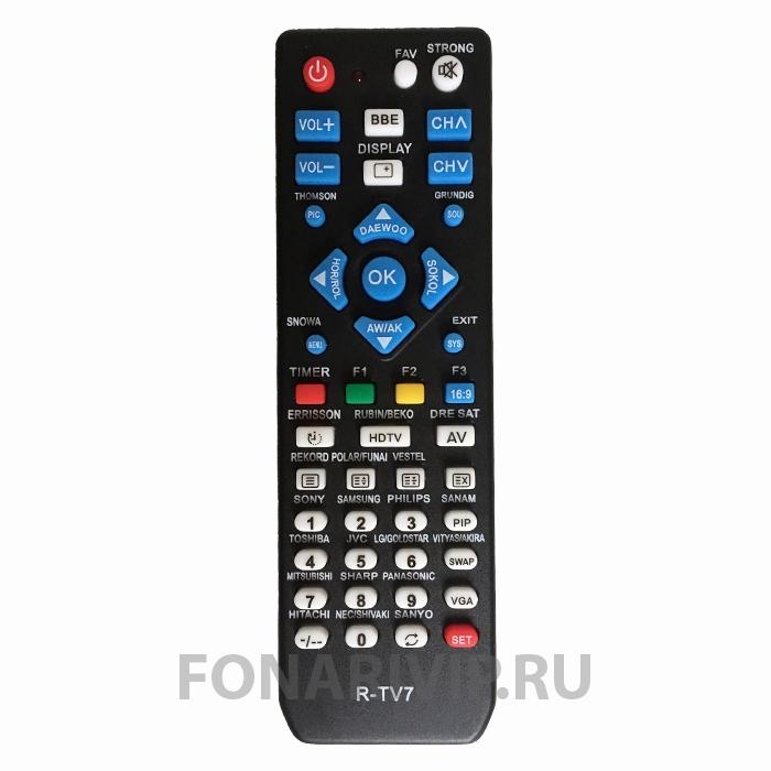 Универсальный ТВ пульт RI-TV7