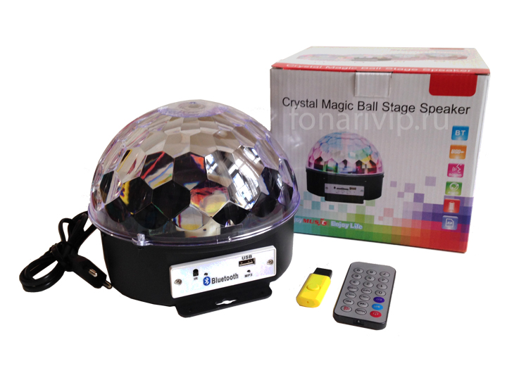 Cristal Magic Ball Stage Speaker BlueTooth