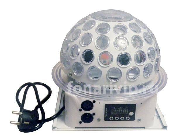 Диско-шар с лазерным проектором многорежимный