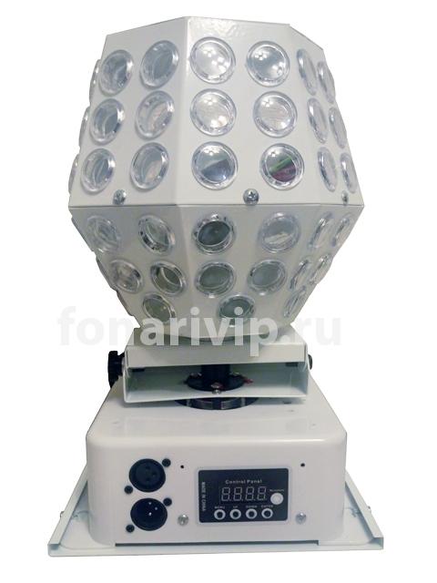 Диско-шар с лазерным проектором цветомузыкальная установка